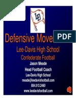 Lee-Davis HS -Defensive Movements