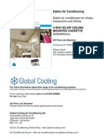 Daikin Air Conditioning Brochure & UK Prices