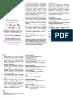 Brochure Primary Practicum REBT 2015
