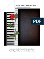Learn How to Play Keyboard Amp Piano Chords and More