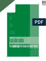 LO QUE DEBE CAMBIAR - LINE BAREIRO - PORTALGUARANI