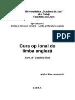 CO de Limba Engleza - Dima Gabriela