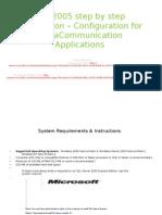 SQL 2005 Step by Step Installation