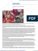 Cash Transfers, The Lazy Short Cut - The Hindu