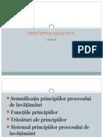 Curs II_Principii Didactice