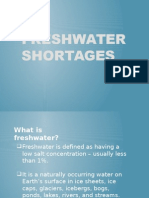 Freshwater Shortages