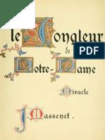 Massenet - Le Jongleur de Notre Dame Vs