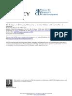 guberman development of everyday mathematics child development 67 4 1996 1609-1623