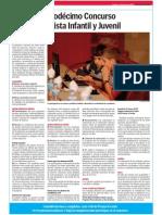 Concurso Mejor Periodista Infantil y Juvenil 2015. Bases y Premios