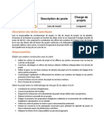 Charge de Projets Longueuil