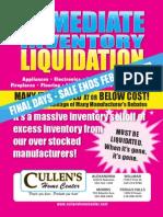 Cullens Liquidation Sale