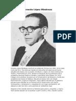 Ernesto López Mindreau