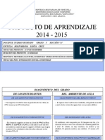 PA de 1° -  6 grado 2014-2015.ppt