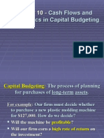 FM10e_ch10_1 - trim Cash Flows and Other Topics in Capital Budgeting.ppt