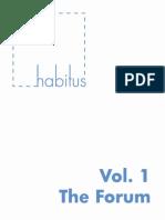 HABITUS Vol 1 TheForum-libre