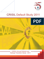 Crisil Rating Default Study 2011