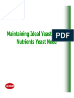 Maintaining Ideal Yeast Health