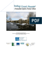 Reclaiming Lost Power Kilkenny Hydro Report 130710