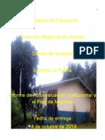 Ministerio de Educación Autoevaluación1
