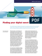 Finding Your Digital Sweet Spot