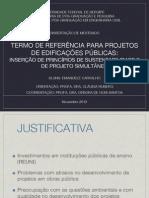 Termo de referência para contratações públicas