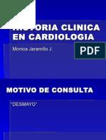 Historia Clínica Cardiología, 2012, Jaramillo