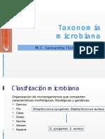 Taxonomía de Microorganismos
