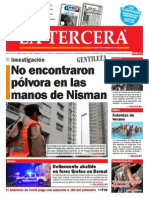 Diario La Tercera 21.01.2015
