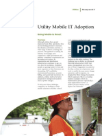 Utility Mobile IT Adoption