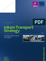 Mksm Transport Strategy Executve Summary