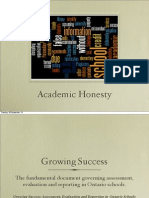 academic honesty review