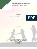 CONSTRUCCIÓN SOCIAL DE LA NIÑEZ Y LA ADOLESCENCIA TRABAJO COLABORATIVO 2