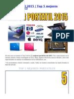 Mejor Portátil 2015