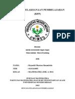 RPP SMA (Geometri)