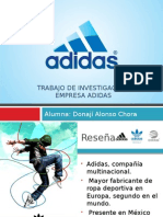 Benchmarking de ADIDAS