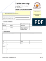 DSU Faculty Application Form(1)