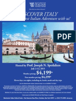 Trip to Italy July 2015