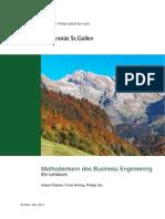 Methodenkern Des Business Engineering