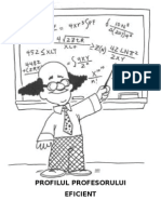 REFERAT Profilul Profesorului Eficient
