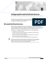 Configuring Microsoft Certificate Services