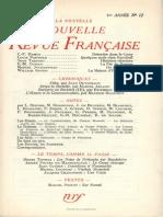 La Nouvelle Nouvelle Revue Francaise n 12 Decembre 1953