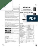 Manual Honda GX390