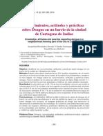 CAP Dengue en Un Barrio de Cartagena
