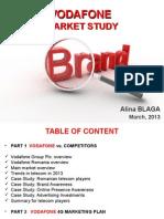 Vodafone Market Study