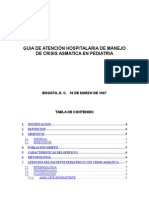 Guia de Atencion de CRISIS ASMATICA Sandra
