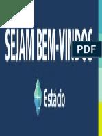 Faixa Boas Vindas Logo Estacio - 300X90cm-Ago2