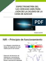 Uso de Espectrometría Del Infrarrojo Cercano (NIR