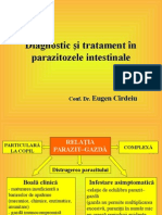 Diagnostic Si Tratament in Parazitozele Intestinale