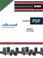 Parts List (Sp) - Alc1325sb0