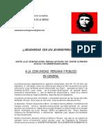 COMUNICADO CONTRA LEY PULPIN DE ASOCACION ERNESTO  GUEVARA DE MADRID